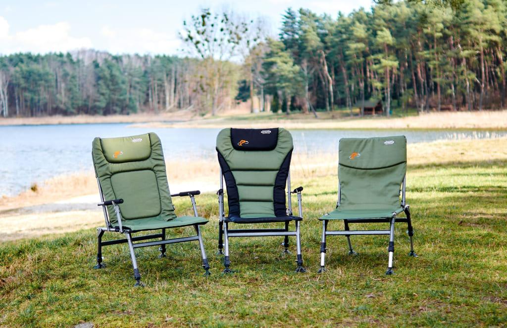 Кресла туристические карповые раскладные Новатор Novator