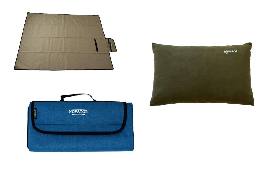 Спальники подушки коврики Новатор Novator
