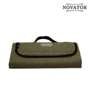 Коврик каремат для кемпинга Novator Picnic Brown Новатор