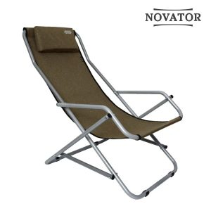 Кресло-шезлонг Novator SH-7 Brown-1 Новатор